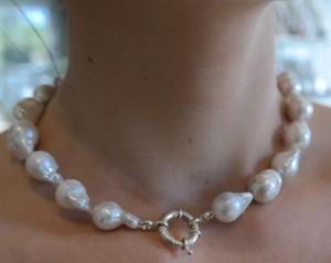 45cm baroque pearl necklace