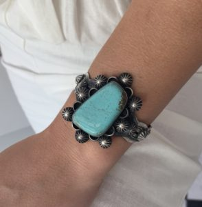 """Mila"" Turquoise Cuff"