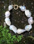 baroque pearls 9ct gold